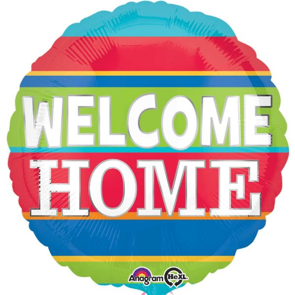 Welcome Home Colourful Stripes